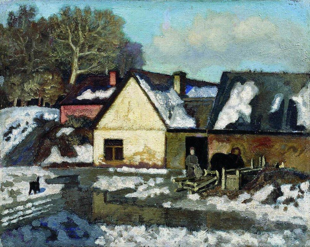 Русский художник николай петрович